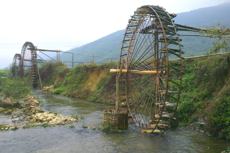 Water Wheels of Vietnam