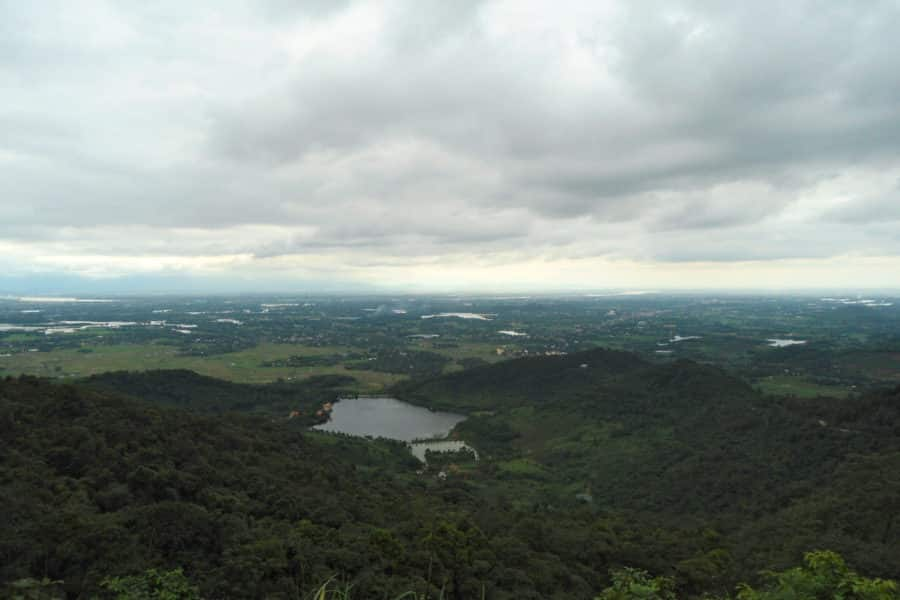 Ba Vi Mountain view wet season
