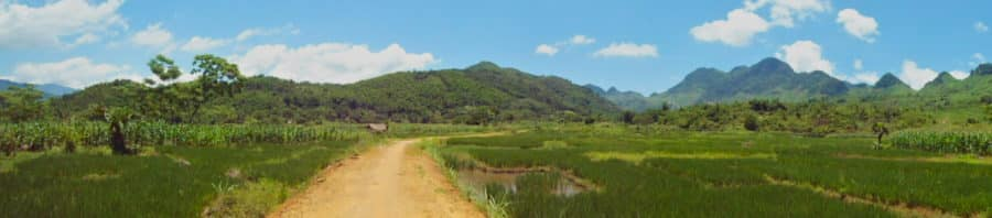 Back Road to Phu Yen on an off-road motorbike tour of north Vietnam