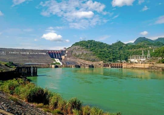 Hoa Binh Dam and Hydropower station